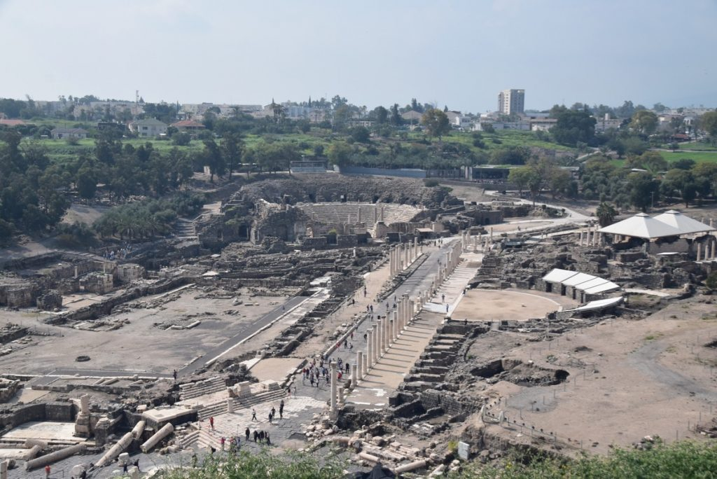 Beth Shean March 2019 Israel Tour with John DeLancey