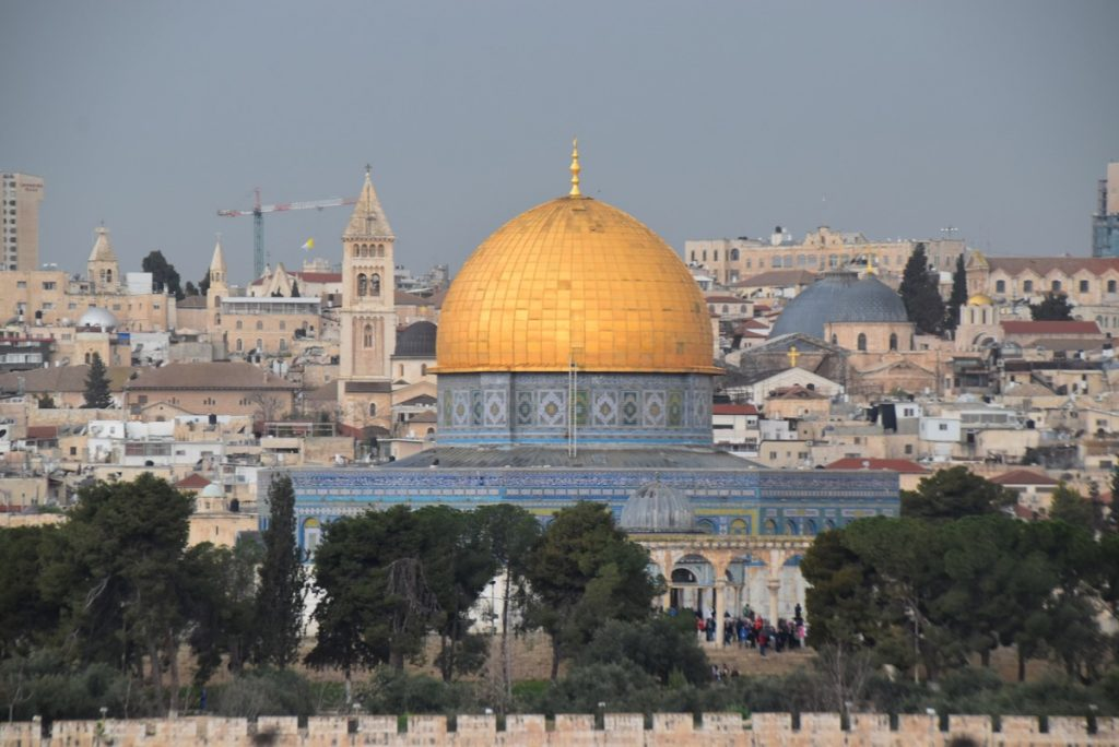 Jerusalem Dome of Rock March 2019 Israel Tour with John DeLancey