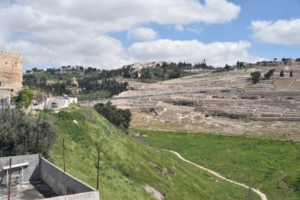 Mt. of Olives March 2019 Israel Tour with John DeLancey