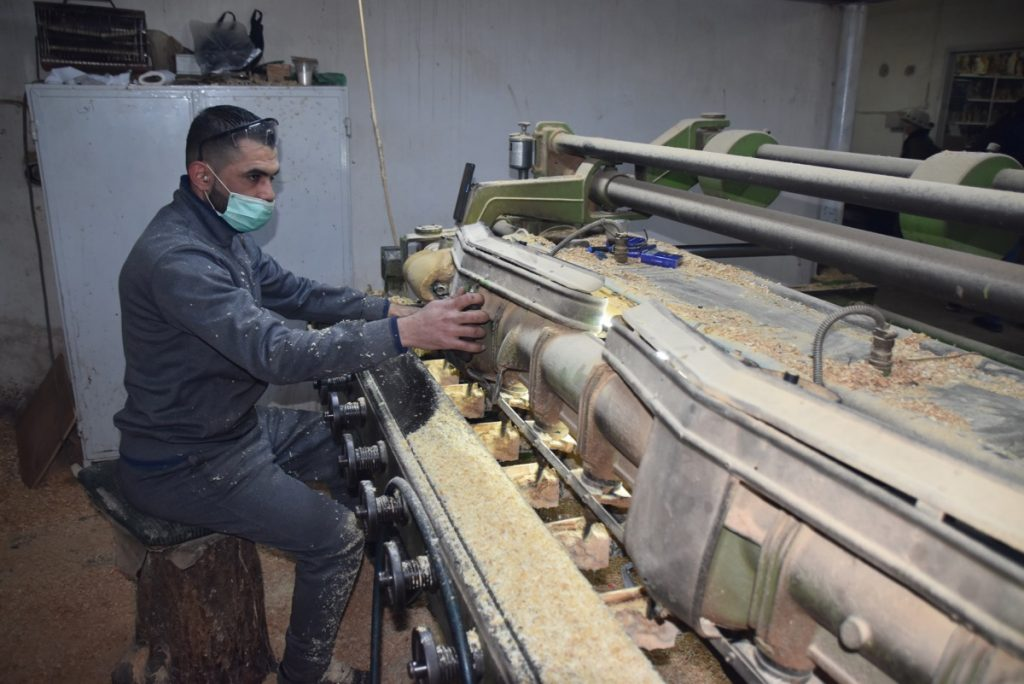 Bethlehem olive wood March 2019 Israel Tour with John DeLancey