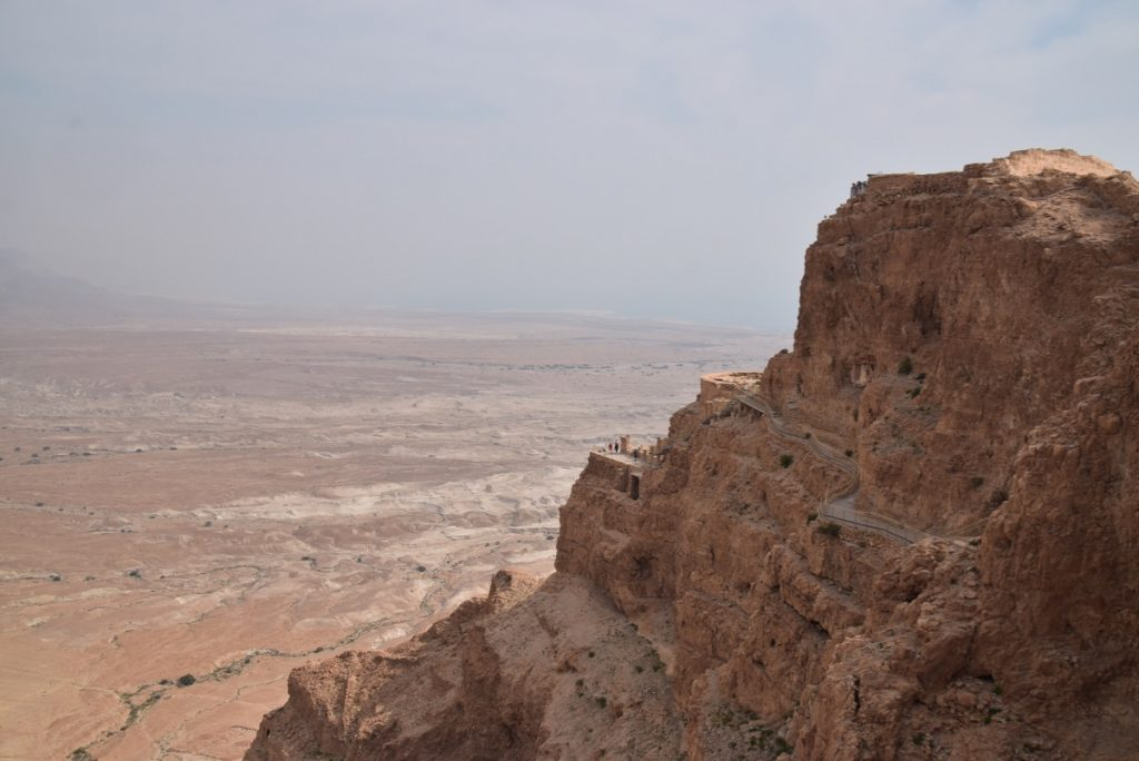 Masada Sunrise March 2019 Israel Tour with John DeLancey