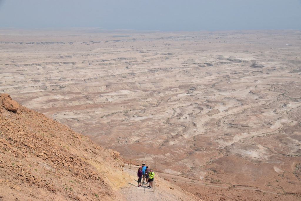 Masada March 2019 Israel Tour with John DeLancey