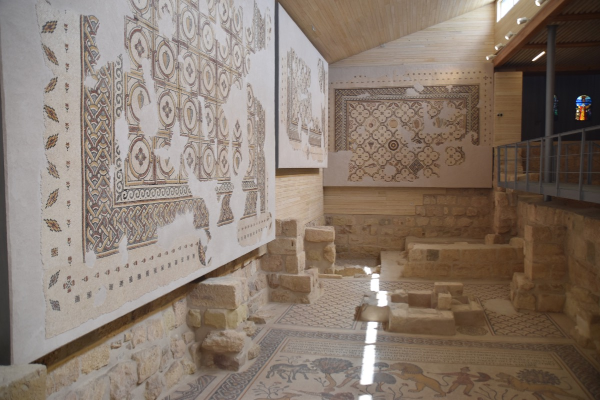 Mosaics on Mt. Nebo