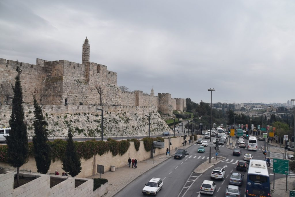 Jerusalem Old City March 2019 Israel Tour with John DeLancey