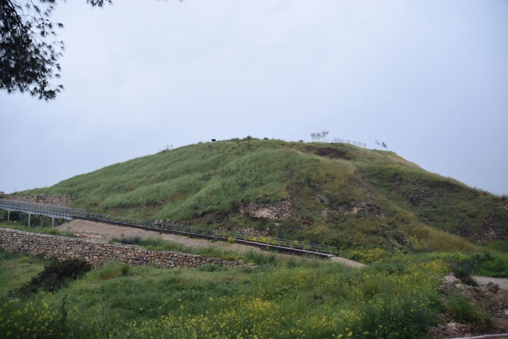 Lachish March 2019 Israel Tour with John DeLancey