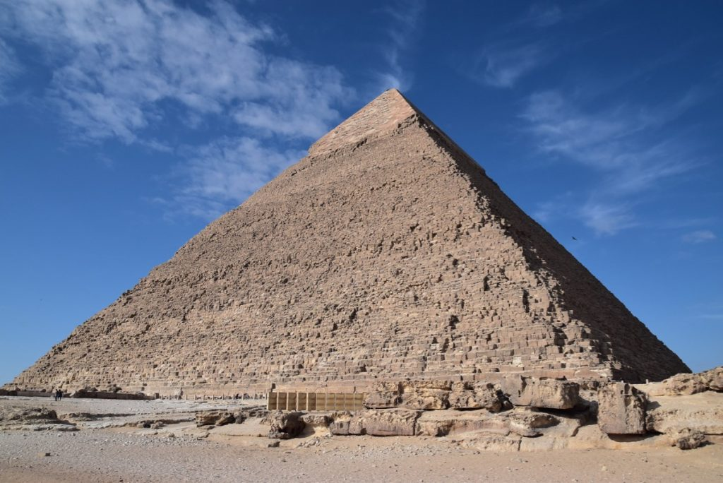 Giza Pyramids Feb 2019 Israel Tour with John DeLancey