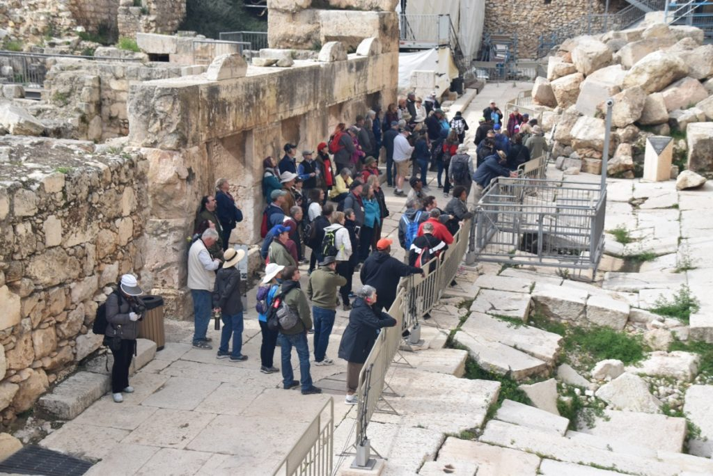 Jerusalem March 2019 Israel Tour with John DeLancey