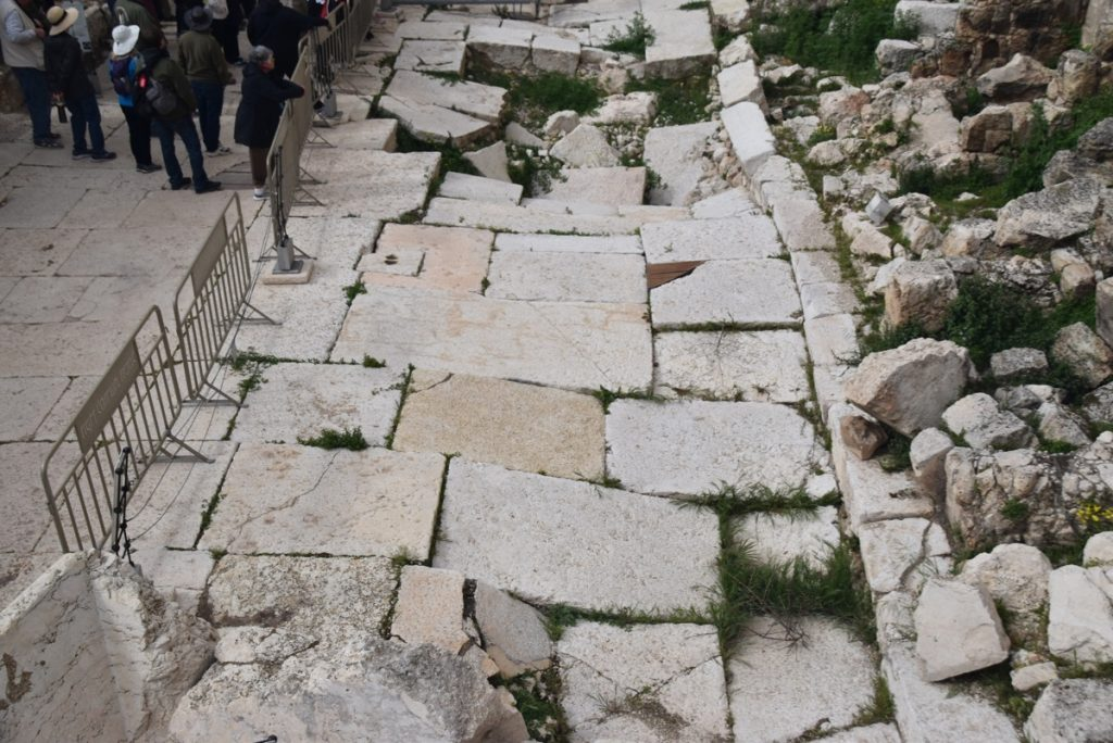 southern excavations Jerusalem March 2019 Israel Tour with John DeLancey