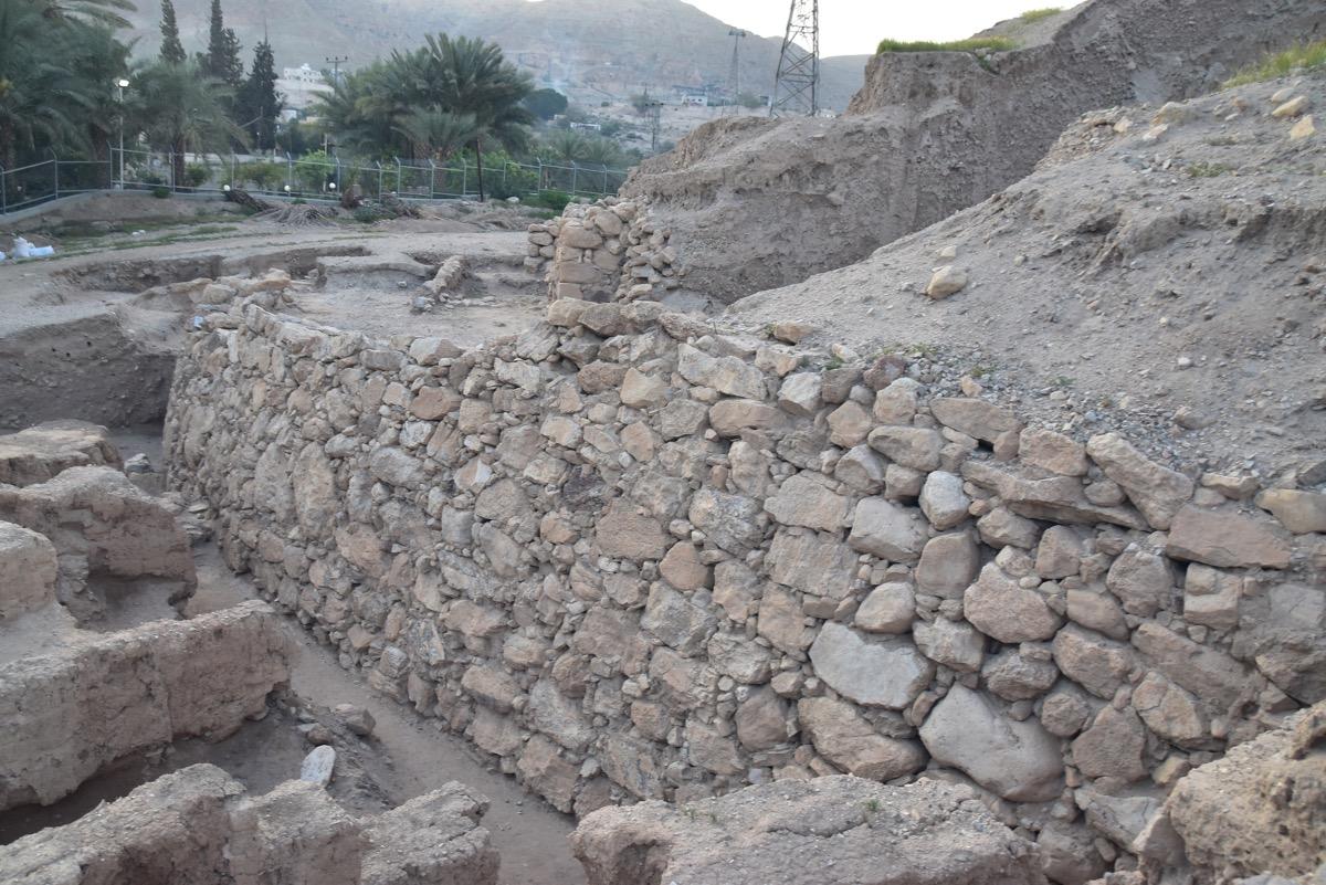 Jericho Wall