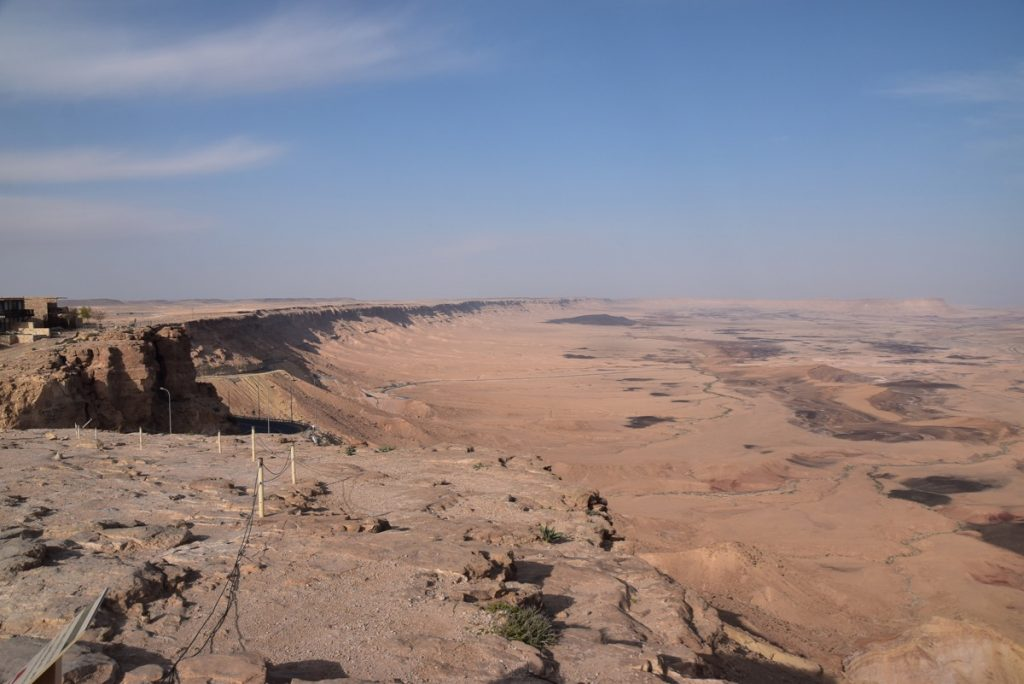 Machtesh Ramon Jordan March 2019 Israel Tour with John DeLancey