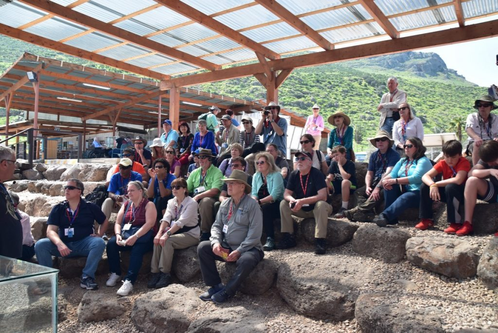 Magdala John Delancey Tour Group - March 2019 Israel Tour