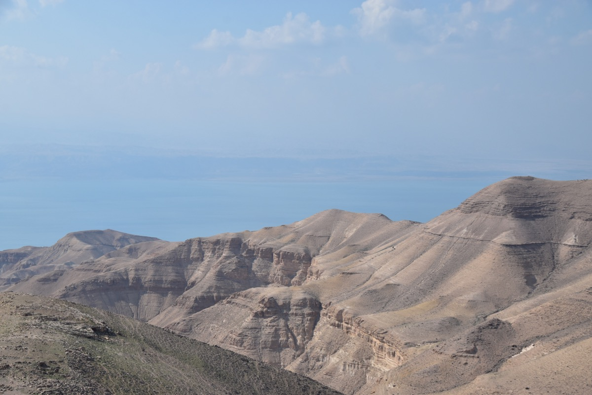 Dead Sea from Machaerus