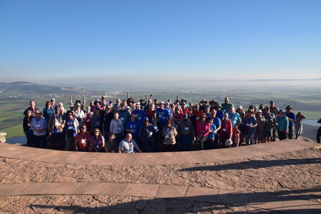Nazareth precipice John Delancey Tour Group - March 2019 Israel Tour