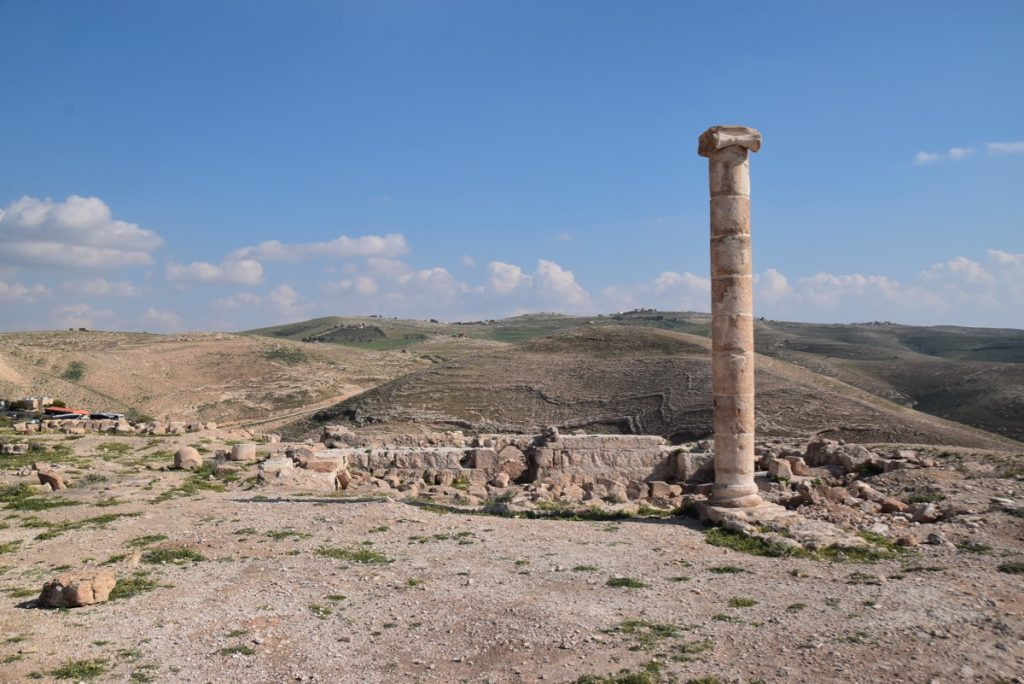 Machaerus Jordan March 2019 Israel Tour with John DeLancey