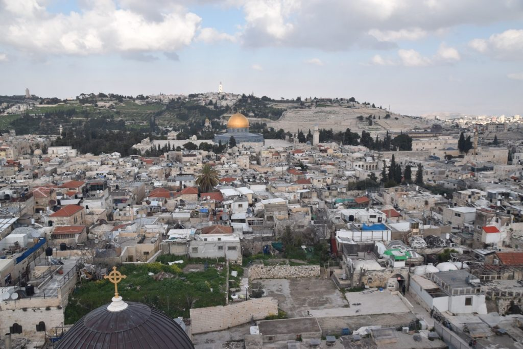 Temple Mount Jerusalem March 2019 Israel Tour with John DeLancey