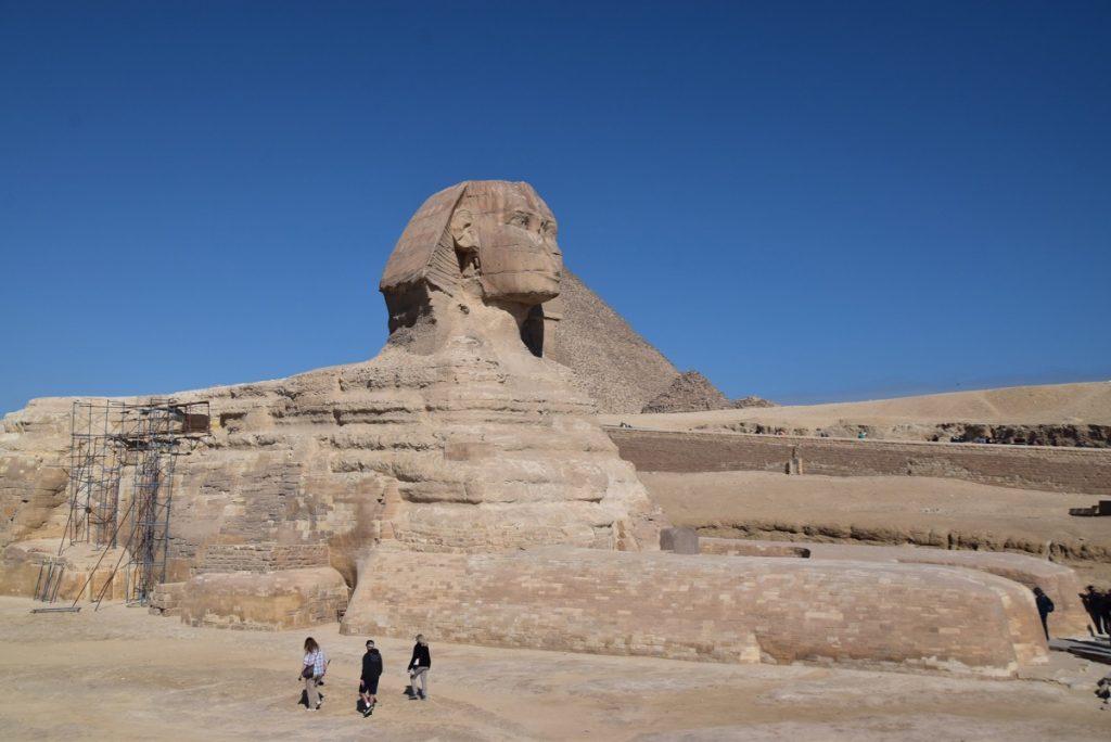 Giza Pyramids sphinx Feb 2019 Israel Tour with John DeLancey