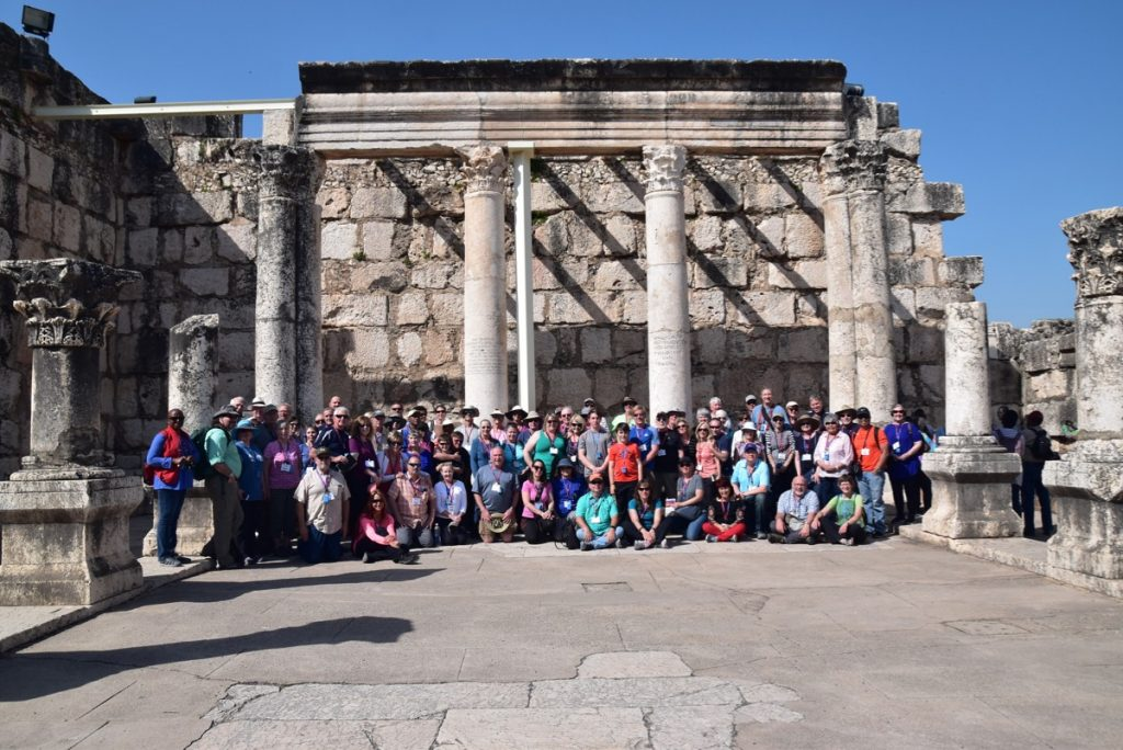 Capernaum John Delancey Tour Group - March 2019 Israel Tour