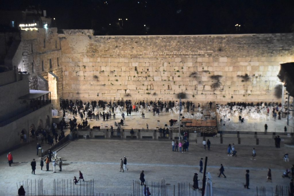 Western Wall March 2019 Israel Tour with John DeLancey