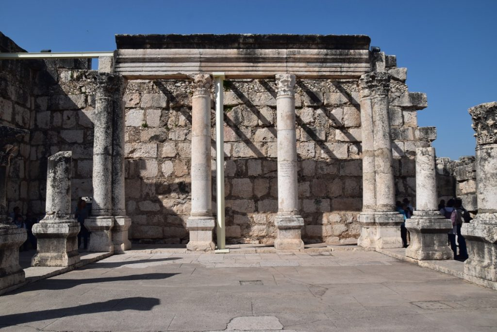 Capernaum March 2019 Israel Tour with John DeLancey