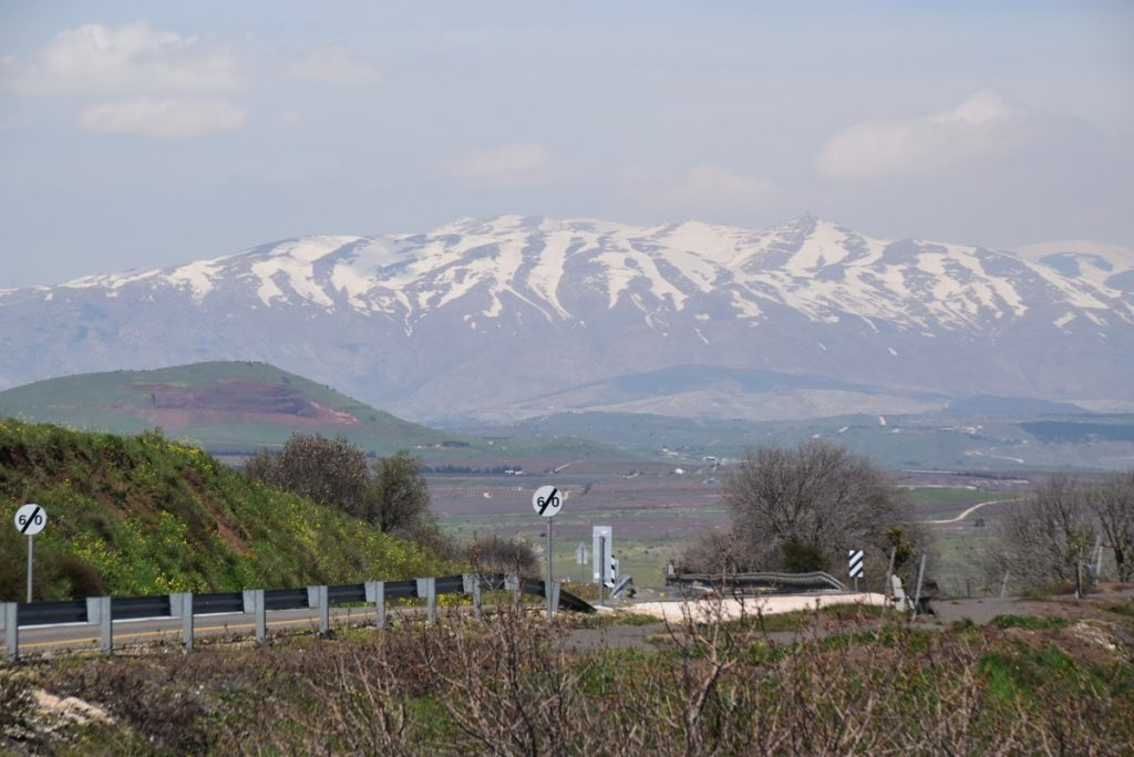 Mt. Hermon March 2019 Israel Tour with John DeLancey
