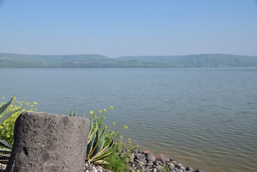 Sea of Galilee March 2019 Israel Tour with John DeLancey