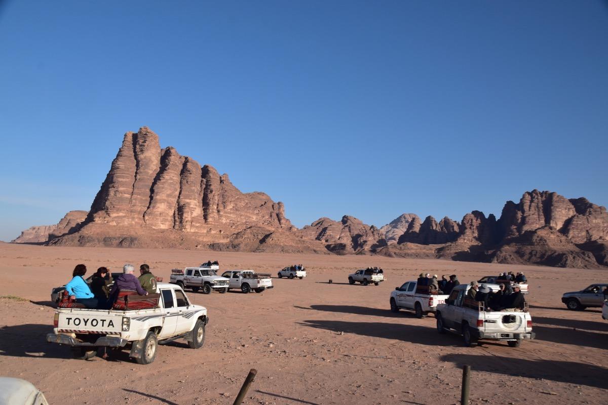 Wadi Rum Jeep Rides