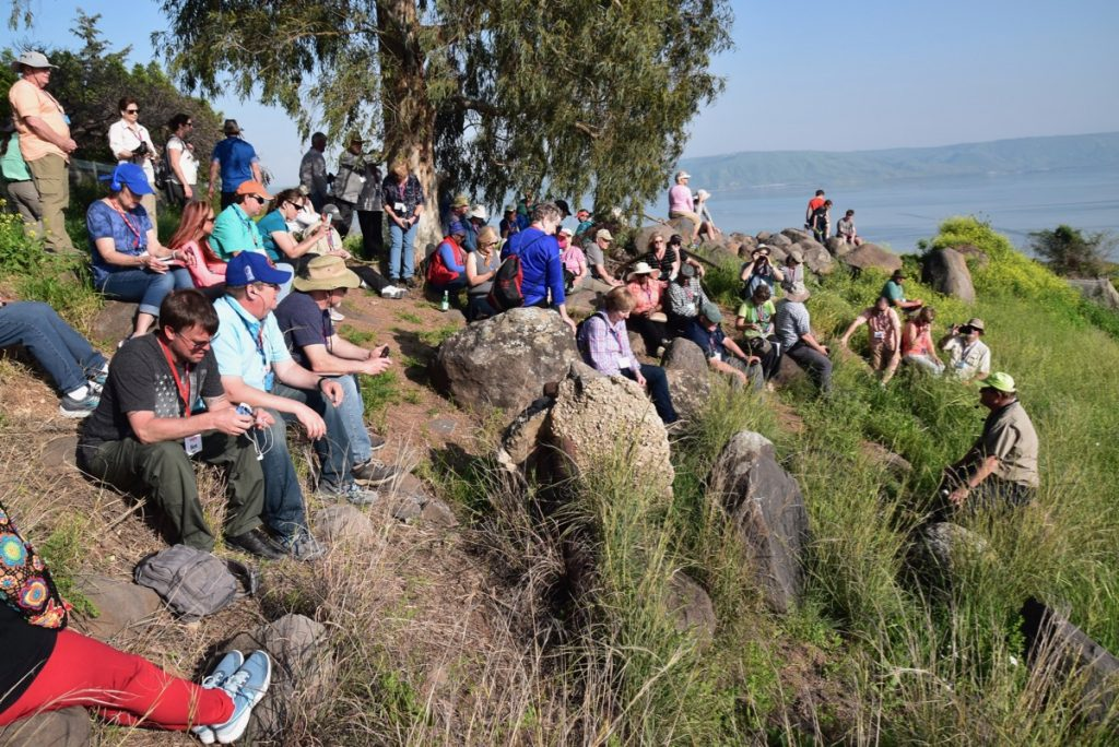 Beatitudes John Delancey Tour Group - March 2019 Israel Tour