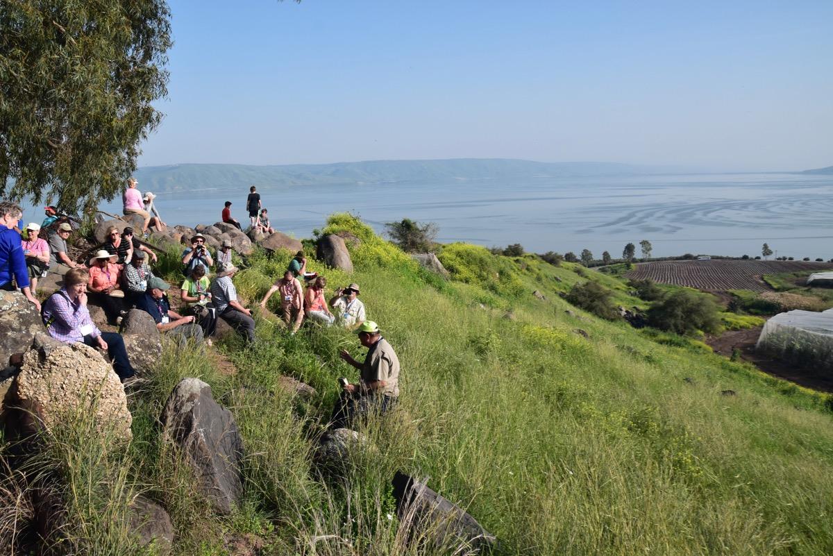 Mt. of Beatitudes Sea of Galilee