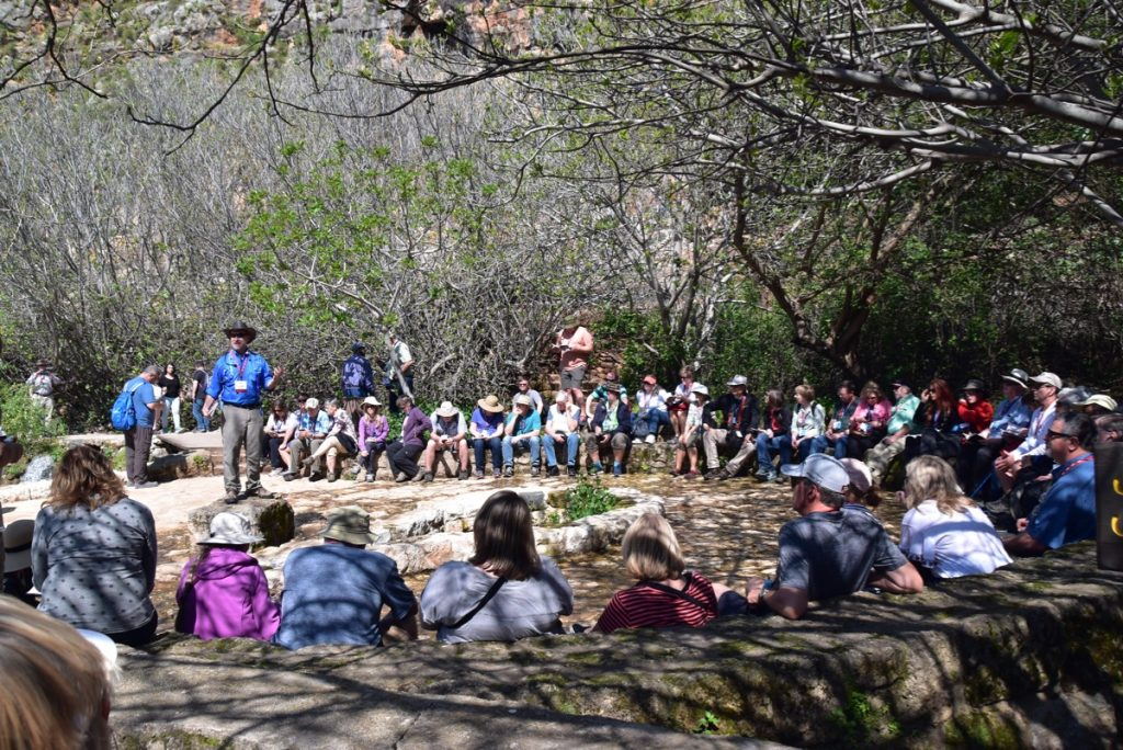 Caesarea Philippi March 2019 Israel Tour with John DeLancey