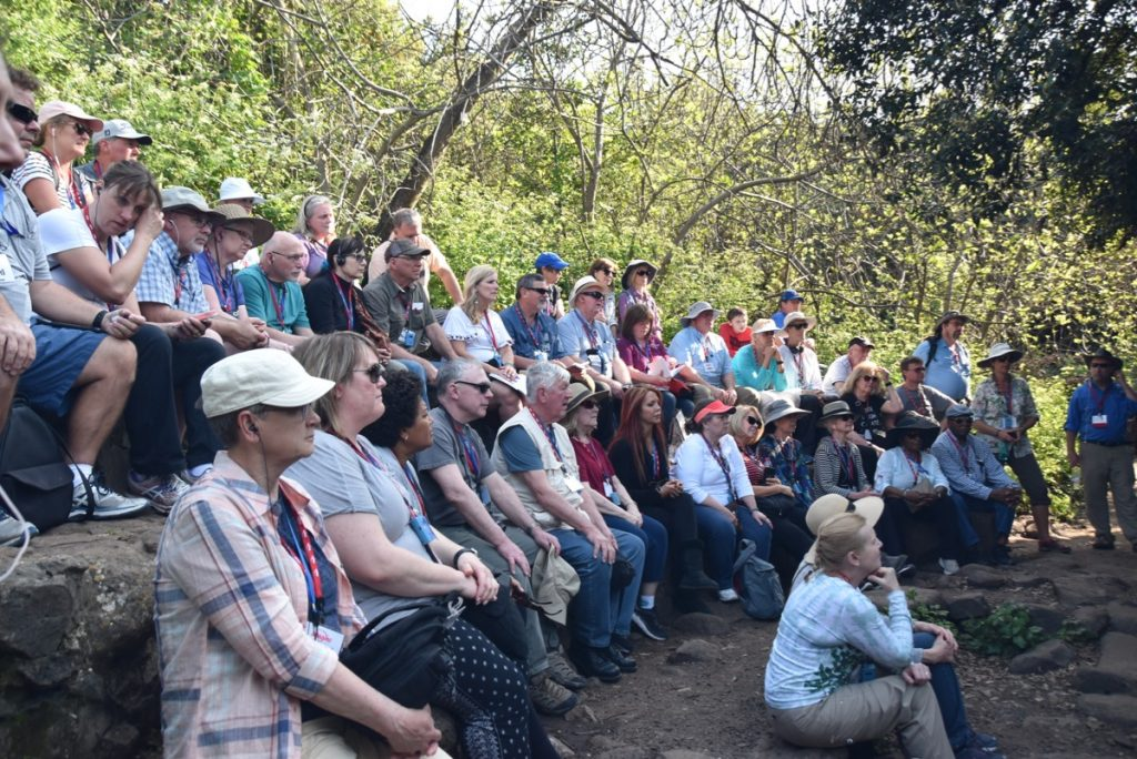 Dan Nature Preserve John Delancey Tour Group - March 2019 Israel Tour