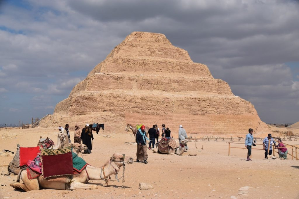 Sakkara Egypt Tour Feb 2019 Israel Tour with John DeLancey