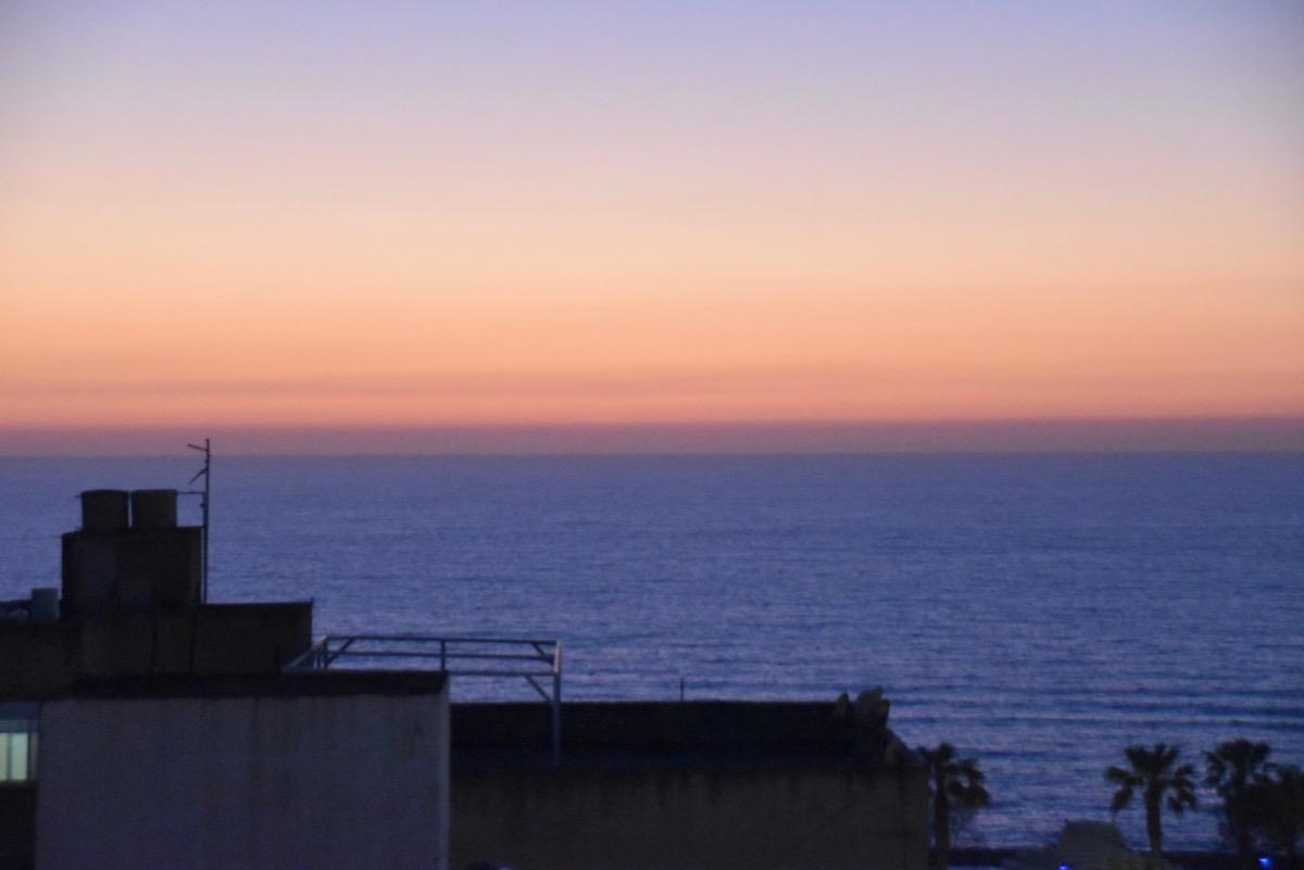 Sunset in Netanya