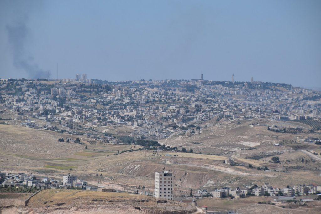 Herodium view of Jerusalem May 2019 Israel Tour with John DeLancey