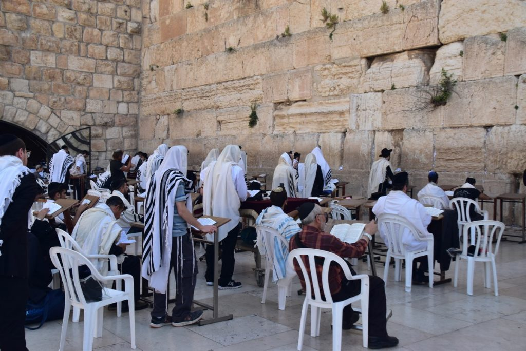 Western Wall May 2019 Israel Tour with John DeLancey