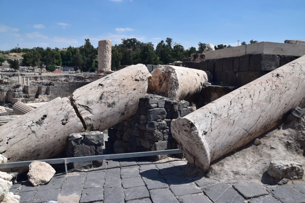 Beth Shean May 2019 Israel Tour with John DeLancey