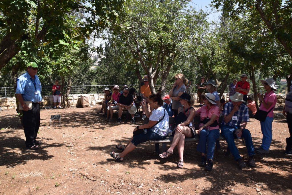 Yad Vashem May 2019 Israel Tour Group with John DeLancey