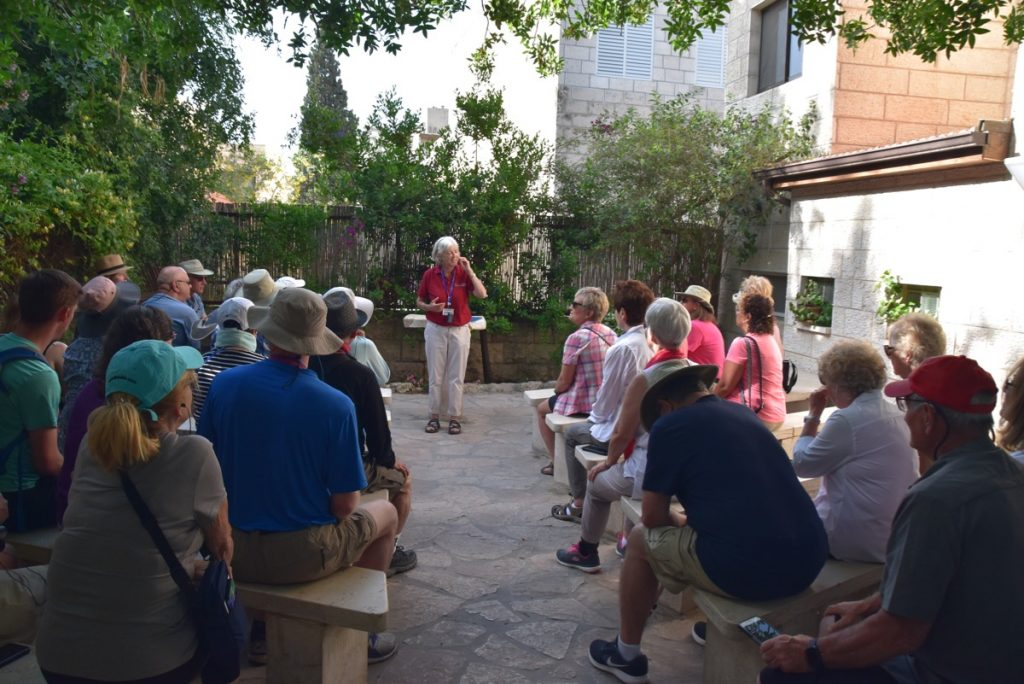 Garden Tomb May 2019 Israel Tour Group with John DeLancey