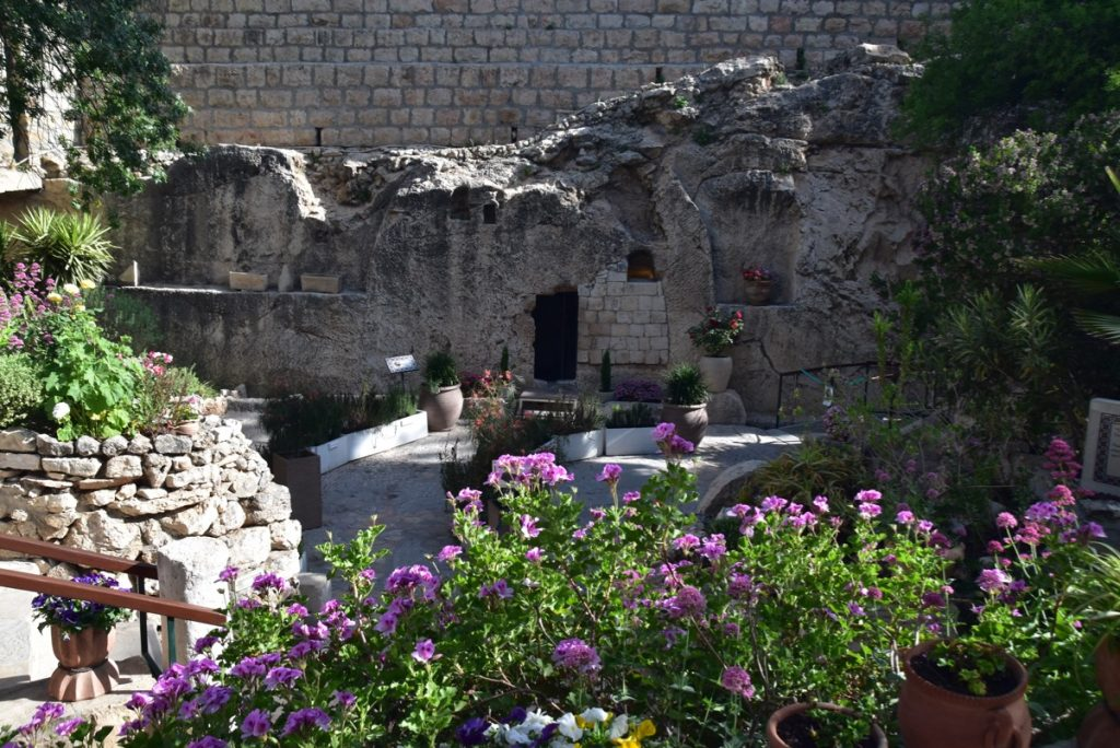Garden Tomb May 2019 Israel Tour with John DeLancey