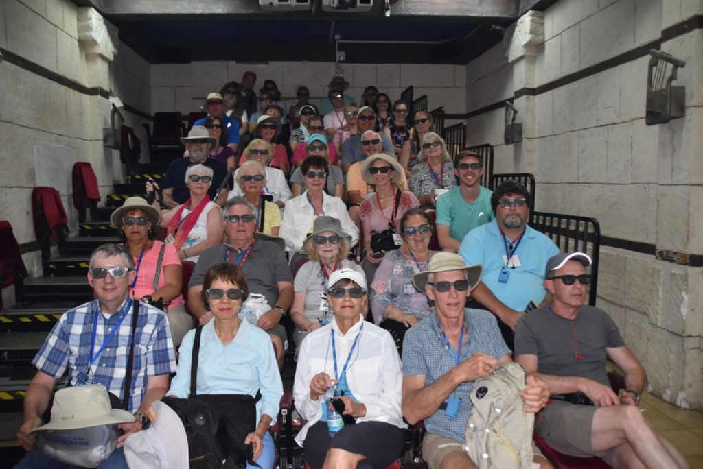 City of David May 2019 Israel Tour Group with John DeLancey