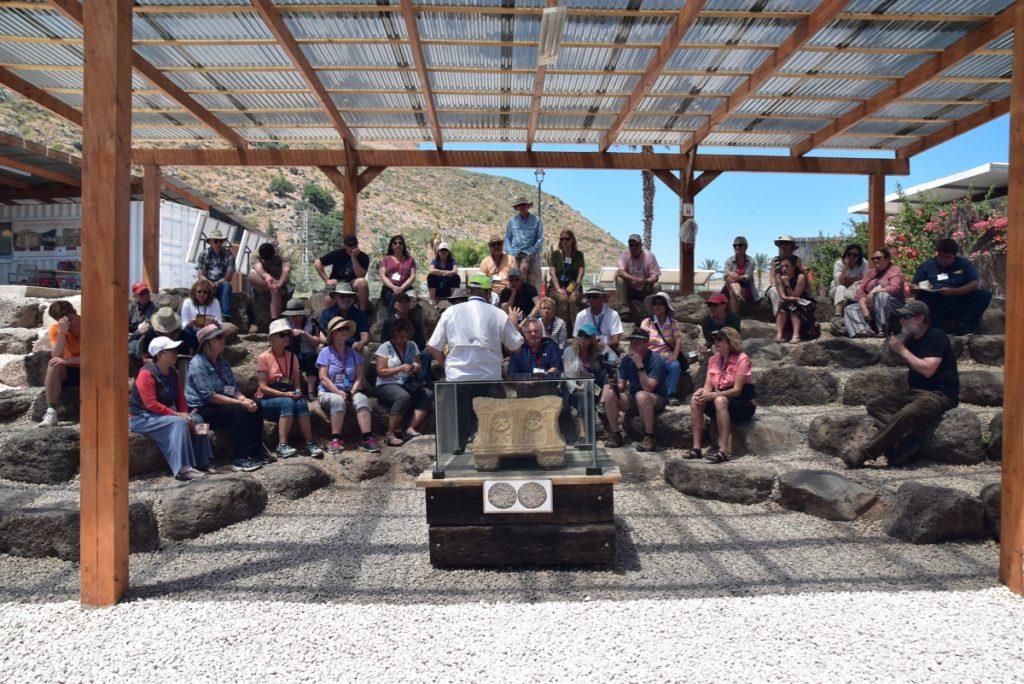 Magdala May 2019 Israel Tour Group with John DeLancey