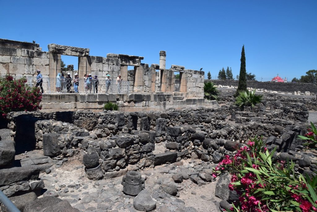 Capernaum May 2019 Israel Tour with John DeLancey