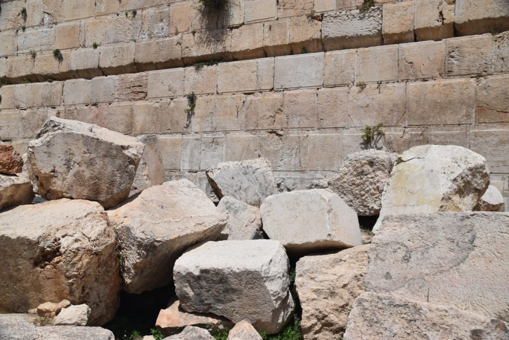 South Wall Excavations Jerusalem May 2019 Israel Tour with John DeLancey
