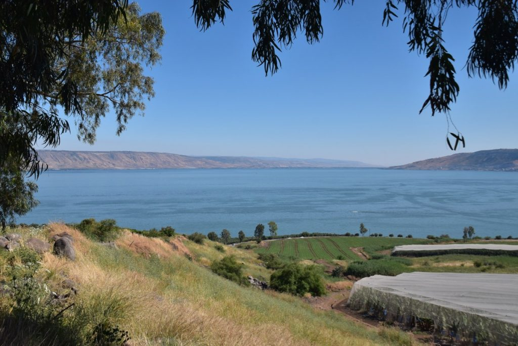 Mt. of Beatitudes May 2019 Israel Tour with John DeLancey