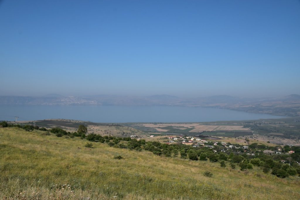 Sea of Galilee May 2019 Israel Tour with John DeLancey