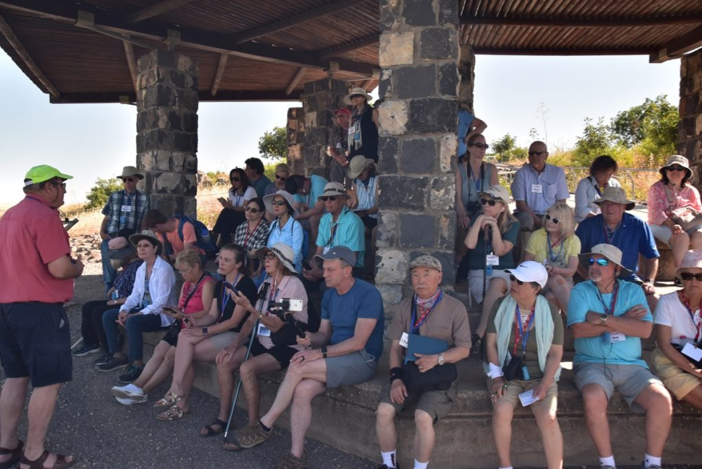 Gamla May 2019 Israel Tour Group with John DeLancey