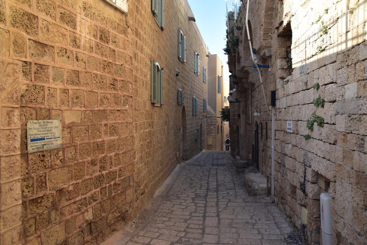 Jaffa alleyways