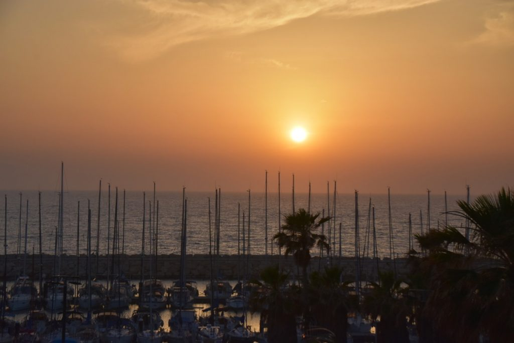 Sunset Israel May 2019 Israel Tour with John DeLancey
