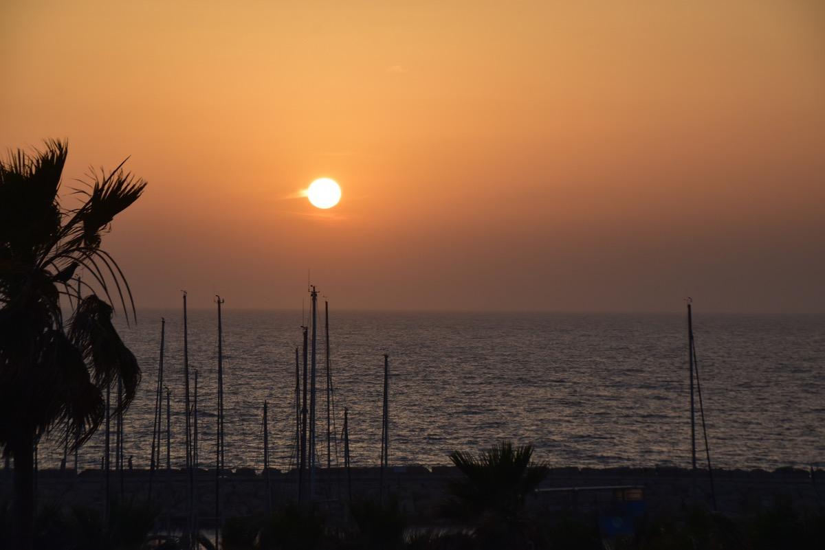 Sunset Med Sea