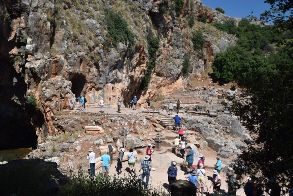 Caesarea Philippi May 2019 Israel Tour with John DeLancey