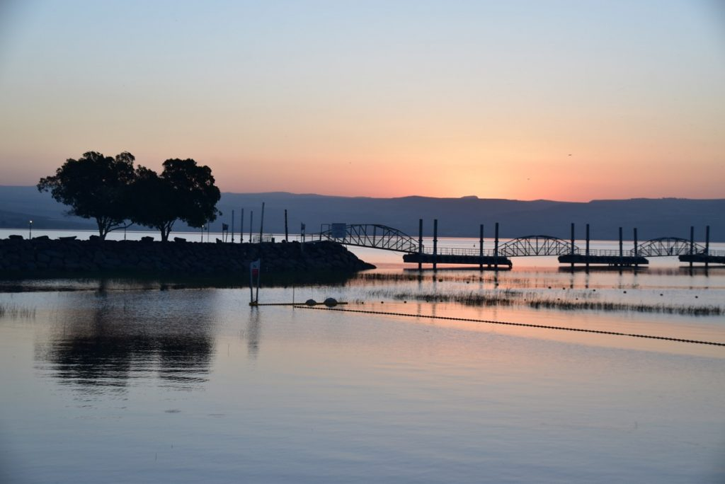 Sunrise Galilee May 2019 Israel Tour with John DeLancey